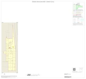 Primary view of object titled '2000 Census County Block Map: Cooke County, Inset E01'.