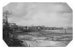 Primary view of object titled '[Photograph of Sabine River, Orange, Texas]'.