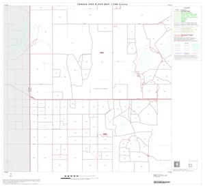 Primary view of object titled '2000 Census County Block Map: Lynn County, Block 4'.