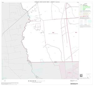 Primary view of object titled '2000 Census County Block Map: Liberty County, Block 18'.