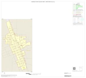 Primary view of object titled '2000 Census County Block Map: Grayson County, Inset P01'.