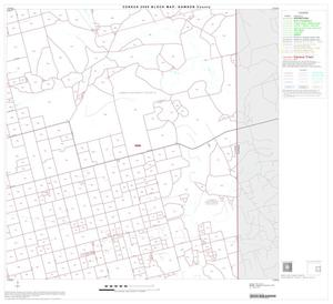 Primary view of object titled '2000 Census County Block Map: Dawson County, Block 6'.