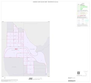 Primary view of object titled '2000 Census County Block Map: Maverick County, Inset C01'.
