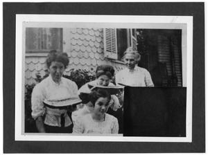 Primary view of object titled '[Group of women]'.