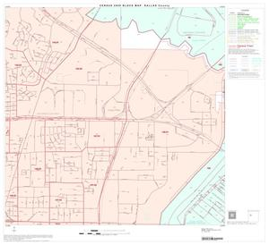 Primary view of object titled '2000 Census County Block Map: Dallas County, Block 33'.