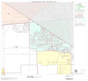Primary view of object titled '2000 Census County Block Map: Fort Bend County, Block 12'.
