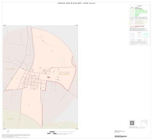 Primary view of object titled '2000 Census County Block Map: Cass County, Inset B01'.