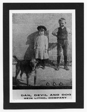 Primary view of object titled 'Dan, Devil and Dog'.
