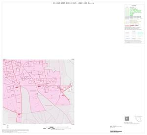 Primary view of object titled '2000 Census County Block Map: Anderson County, Inset C04'.