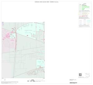 Primary view of object titled '2000 Census County Block Map: Bowie County, Inset F03'.