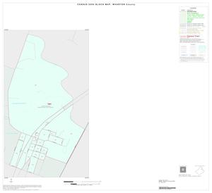 Primary view of object titled '2000 Census County Block Map: Wharton County, Inset B01'.