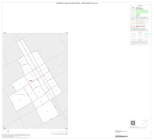 Primary view of object titled '2000 Census County Block Map: Bastrop County, Inset B01'.