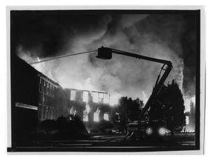 Primary view of object titled 'American Bridge Fire in 1980'.