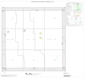Primary view of object titled '2000 Census County Block Map: Crosby County, Index'.