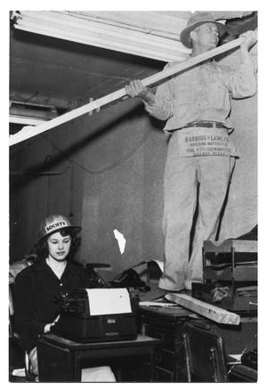 Primary view of object titled '[Remodeling Job at 503 Front Street]'.