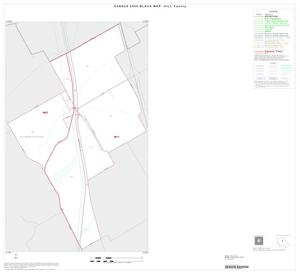 Primary view of object titled '2000 Census County Block Map: Hill County, Inset C01'.
