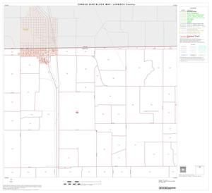 Primary view of object titled '2000 Census County Block Map: Lubbock County, Block 4'.