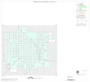 Primary view of object titled '2000 Census County Block Map: Floyd County, Inset B01'.