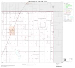 Primary view of object titled '2000 Census County Block Map: Terry County, Block 3'.