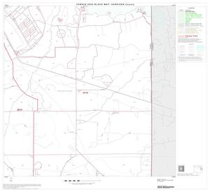 Primary view of object titled '2000 Census County Block Map: Harrison County, Block 10'.