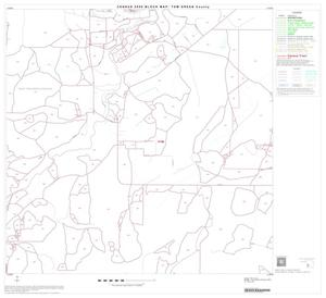 Primary view of object titled '2000 Census County Block Map: Tom Green County, Block 20'.