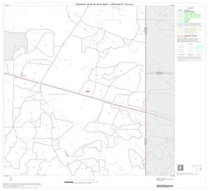 Primary view of object titled '2000 Census County Block Map: Crockett County, Block 17'.