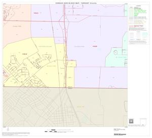 Primary view of object titled '2000 Census County Block Map: Tarrant County, Block 95'.