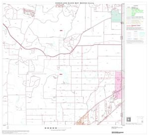 Primary view of object titled '2000 Census County Block Map: Medina County, Block 16'.