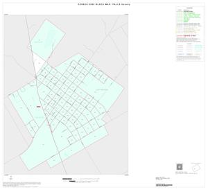 Primary view of object titled '2000 Census County Block Map: Falls County, Inset B01'.