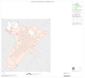 Primary view of object titled '2000 Census County Block Map: Bandera County, Inset A01'.