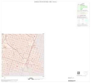 Primary view of object titled '2000 Census County Block Map: Bell County, Inset C04'.