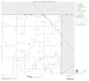 Primary view of object titled '2000 Census County Block Map: Dallam County, Block 3'.