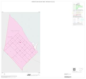 Primary view of object titled '2000 Census County Block Map: Refugio County, Inset A01'.