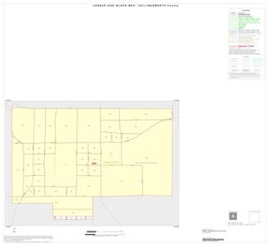 Primary view of object titled '2000 Census County Block Map: Collingsworth County, Inset B01'.