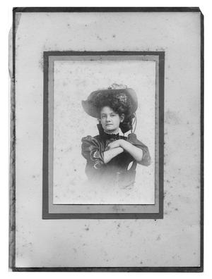 Primary view of object titled 'Portrait of a Woman'.