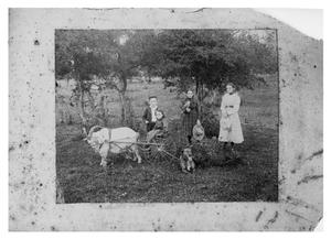 Primary view of object titled 'Four Children with Dog, Parrot and Goat'.