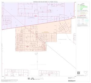 Primary view of object titled '2000 Census County Block Map: El Paso County, Block 41'.