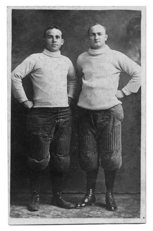 Primary view of object titled '[Men in Sports Attire]'.
