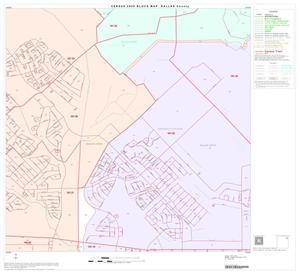 Primary view of object titled '2000 Census County Block Map: Dallas County, Block 19'.