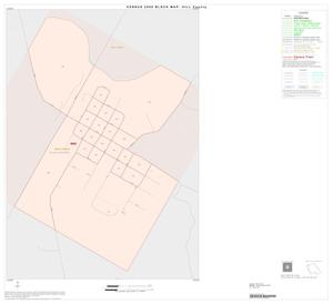 Primary view of object titled '2000 Census County Block Map: Hill County, Inset B01'.