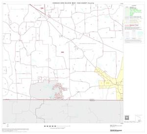 Primary view of object titled '2000 Census County Block Map: Van Zandt County, Block 14'.