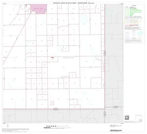 Primary view of object titled '2000 Census County Block Map: Hansford County, Block 9'.