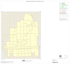 Primary view of object titled '2000 Census County Block Map: Bowie County, Inset D01'.