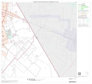 Primary view of object titled '2000 Census County Block Map: Brazoria County, Block 12'.