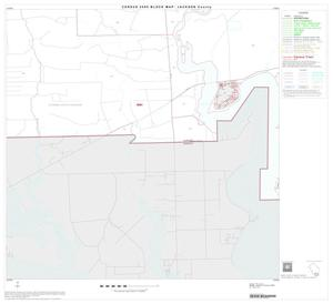 Primary view of object titled '2000 Census County Block Map: Jackson County, Block 18'.