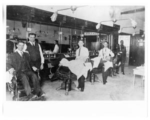 Primary view of object titled '[Palace Barber Shop]'.