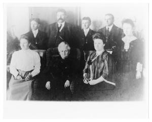 Primary view of object titled '[Dr. Burr and Family]'.