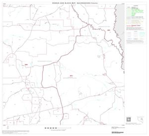 Primary view of object titled '2000 Census County Block Map: Nacogdoches County, Block 8'.