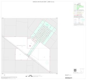 Primary view of object titled '2000 Census County Block Map: Lamb County, Inset E01'.