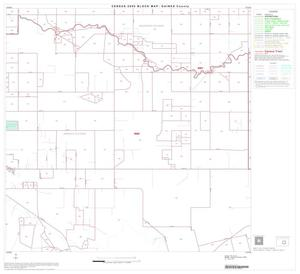 Primary view of object titled '2000 Census County Block Map: Gaines County, Block 7'.